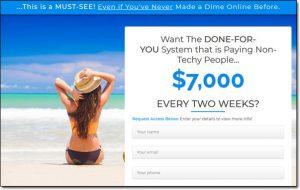 Done 4 You Business Website Screenshot