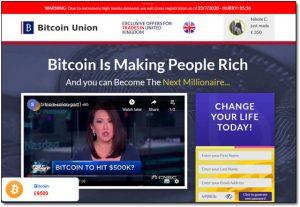 Bitcoin Union Website Screenshot