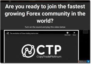 Copy Trade Profit FX Website Screenshot