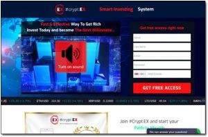 Cryptex Website Screenshot