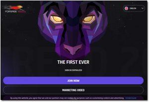 Forsage Website Screenshot