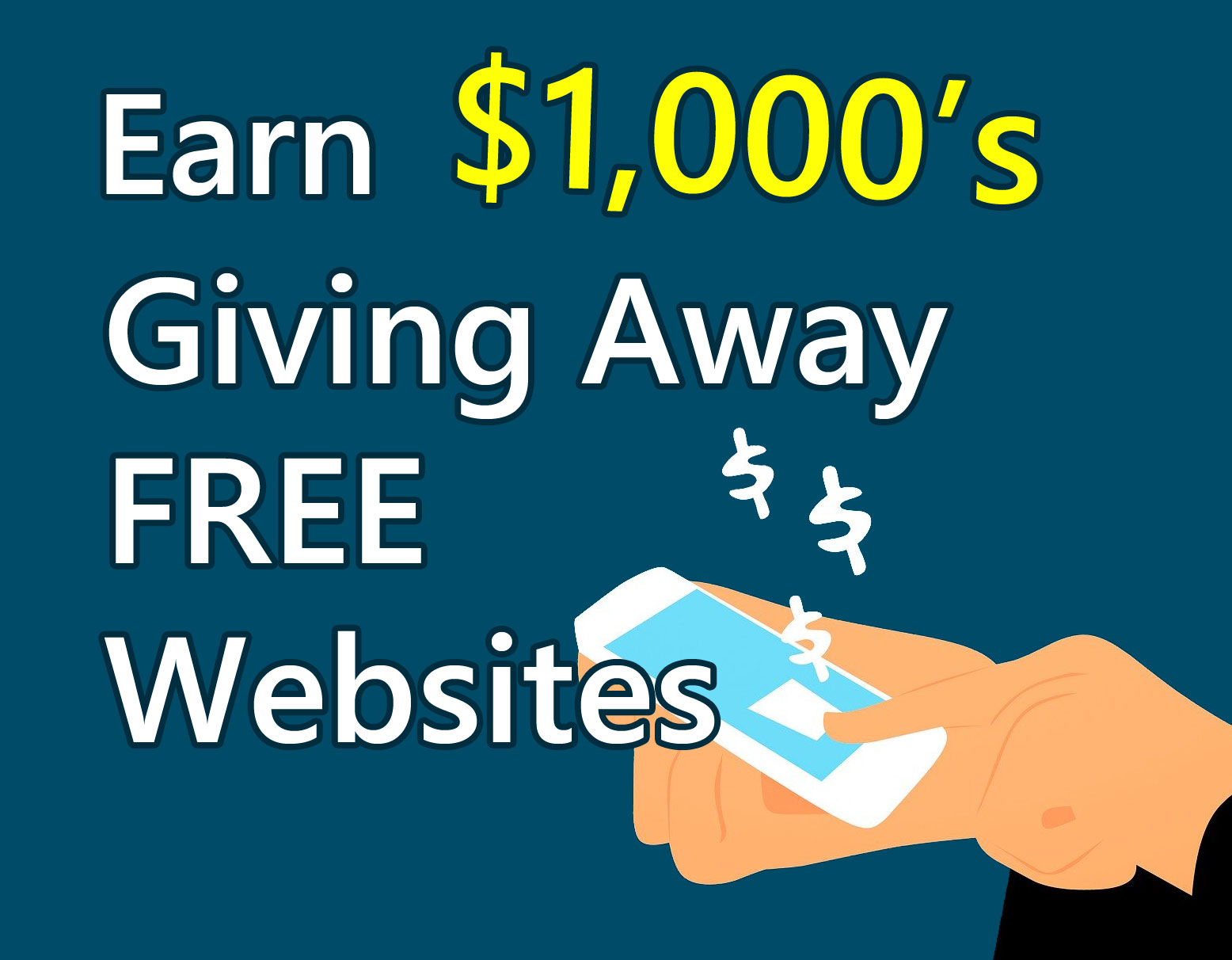 Make Money Giving Away Free Websites