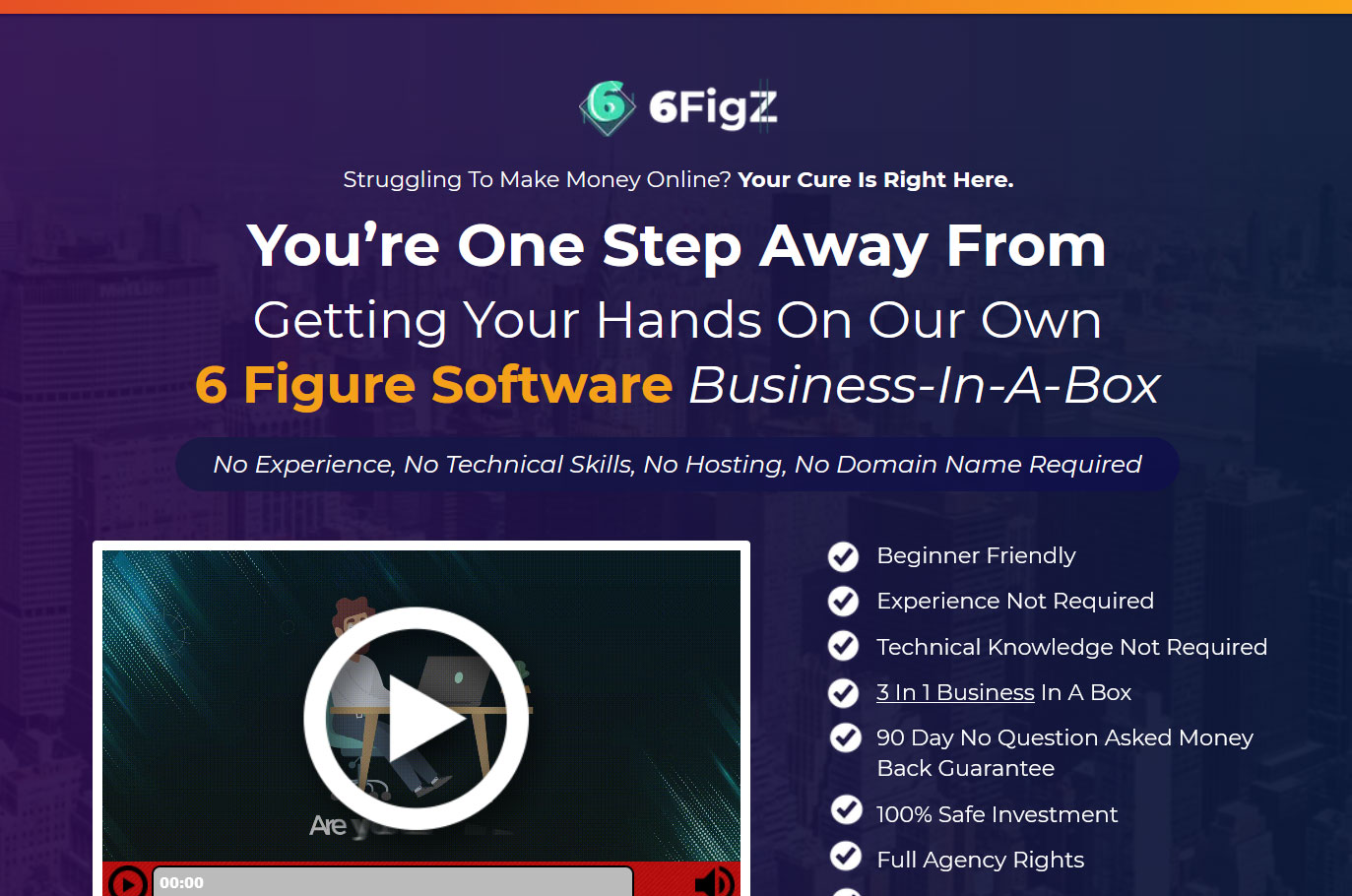 6FigZ Website Screenshot