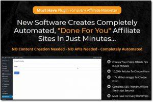 AffiliBuilder Website Screenshot