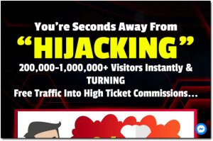 High Ticket Siphon Website Screenshot