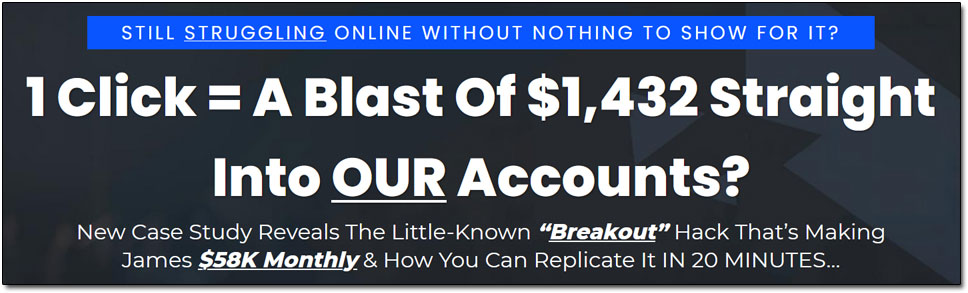 The Breakout Code Income Claim