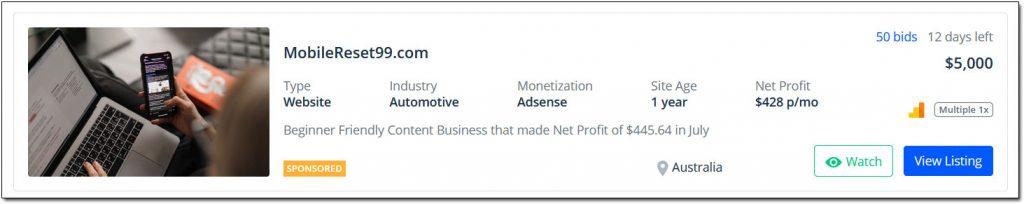 WordPress Website Example