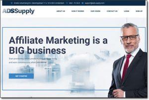 Ads Supply Website Screenshot