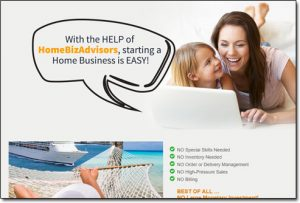 Home Biz Advisors Website Screenshot