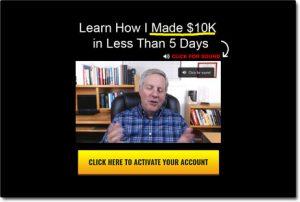 Stay Home Profits Website Screenshot