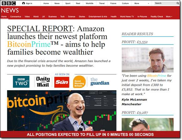 Bitcoin Prime News Promo