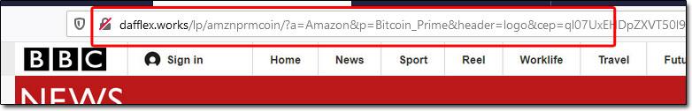 Fake News URL