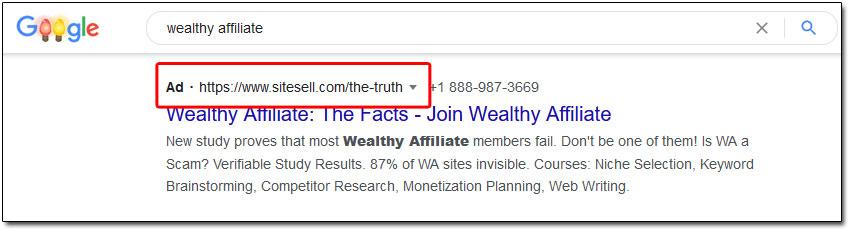 SiteSell Advert