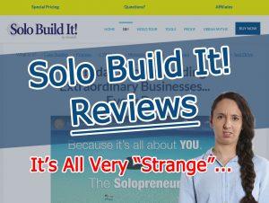 Solo Build It! Reviews