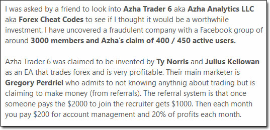 Azha Trader 6 Review