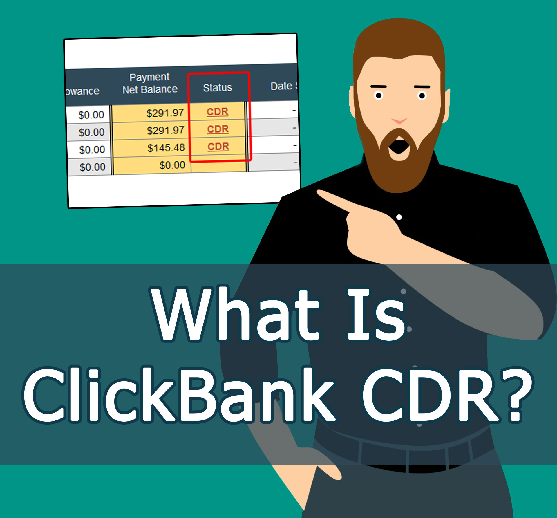 What Is ClickBank CDR?