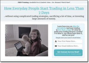 Consistent Profits Website Screenshot