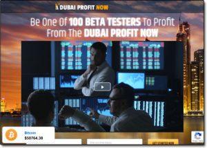 Dubai Profit Now Website Screenshot