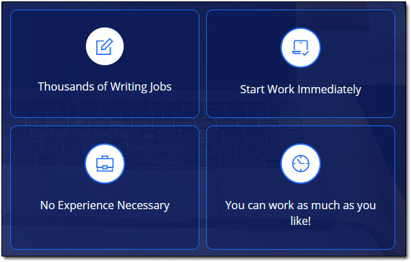 Paid Online Writing Jobs Claims