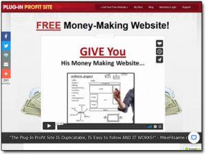 Plug-In Profit Site Website Screenshot