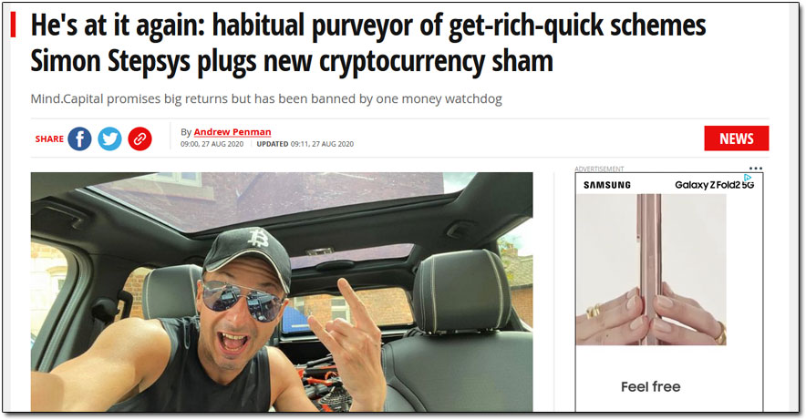 Simon Stepsys News